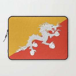Flag of bhutan-,Bhutan, Himalaya, South Asia,Bhutanese, bhoutan, bhoutanais, dragon Laptop Sleeve