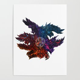 The Blazing Darkness  Poster
