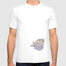 Dove you White SMALL Mens Fitted Tee