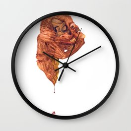 The Itch: 'Oft Rejected, Never Conquered' Wall Clock
