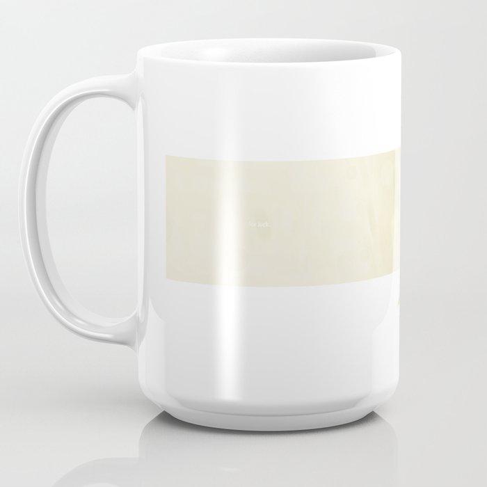 For Luck Coffee Mug