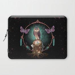 Enchanted Woodland Secret Keeper And Dream Catcher Laptop Sleeve