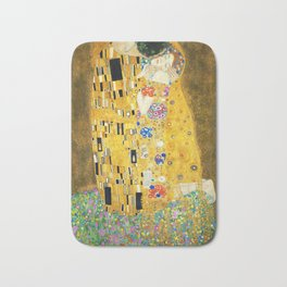 Gustav Klimt The Kiss Badematte