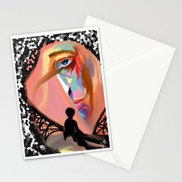 Man of Color Stationery Cards