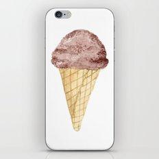 Watercolour Illustrated Ice Cream - Chocolate Dream iPhone & iPod Skin