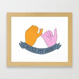 Hope to Die Framed Art Print