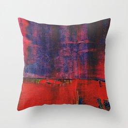 Simon Carter Painting Tyr's River Throw Pillow