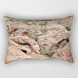 Red Rock Canyon, Nevada Rectangular Pillow