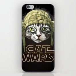 Cat Wars iPhone Skin