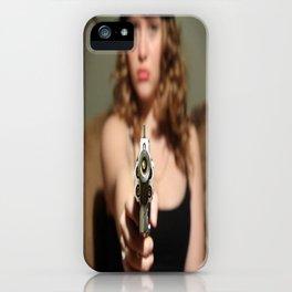 Wrong Girl iPhone Case
