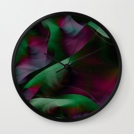 Colorful abstract 2016/002 Wall Clock