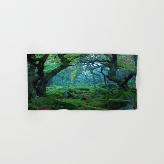 Enchanted forest mood Hand & Bath Towel