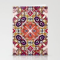 morocco Stationery Cards featuring Berry Morocco by Glanoramay