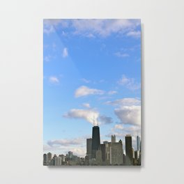 Chicago Sky Metal Print