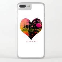 My Heart, My Love Clear iPhone Case