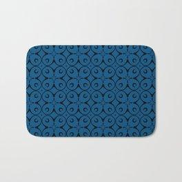My Lucky Day Snorkel Blue Bath Mat