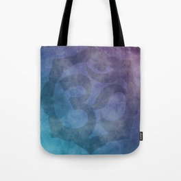 Aum Symbol - Textured Abstract Tote Bag