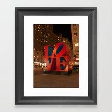 LOVE, NYC, New York Framed Art Print