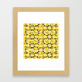 5 Dibas Framed Art Print
