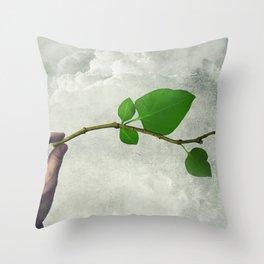 Eco life concept Throw Pillow