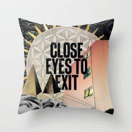 MIND MATTERS Throw Pillow