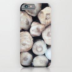 natural wood iPhone 6s Slim Case