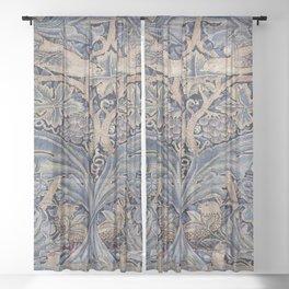 Art work of William Morris 8 Sheer Curtain