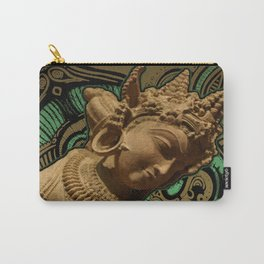 Indian Goddess Uttar Pradesh Apsara Golden Carry-All Pouch