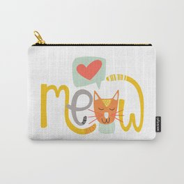 Meow Love Carry-All Pouch