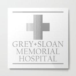GREY SLOAN MEMORIAL HOSPITAL Metal Print