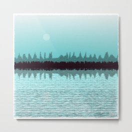 Moonscape #461,308,380 Metal Print