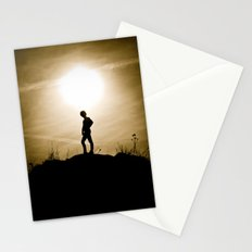 King of the Sunset Hill Stationery Cards
