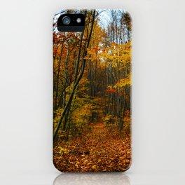 Foliage. iPhone Case