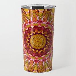 The goldish mandala Travel Mug