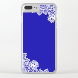 Lace design 3. Clear iPhone Case