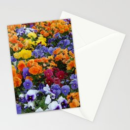 Pancy Flower 2 Stationery Cards