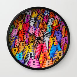 Cats 05 Wall Clock