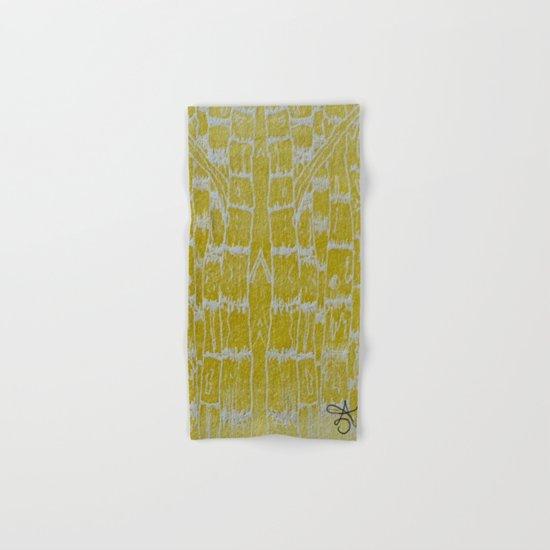 Yellow Sugarcane Hand & Bath Towel