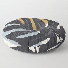 Abstract Tropical Art I Floor Pillow