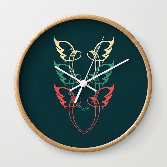 VVV ( Veni, Vidi, Vici ) Wall Clock