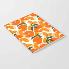 Orange Harvest - White Notebook