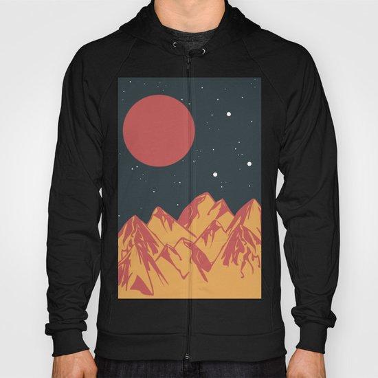 galactic mountains Hoody