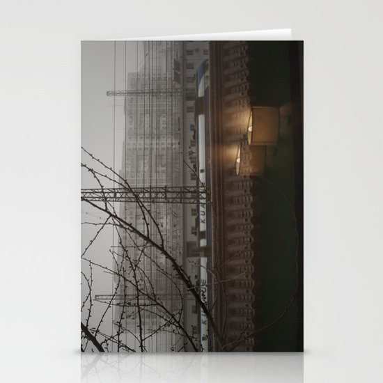 Morning Line Stationery Cards