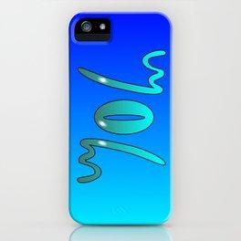 John (Ambigram) Namendreher iPhone Case