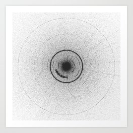 Sound of Interstellar Mission - Audiovisual Art Print