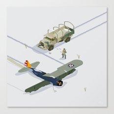 found airplane Canvas Print