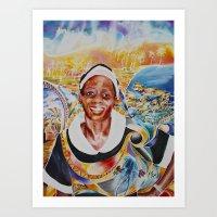 jamaica Art Prints featuring jamaica 3 by CarolBoerckel