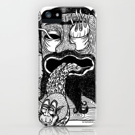 bruno is my enemy iPhone Case