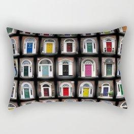 Dublin Doors Rectangular Pillow