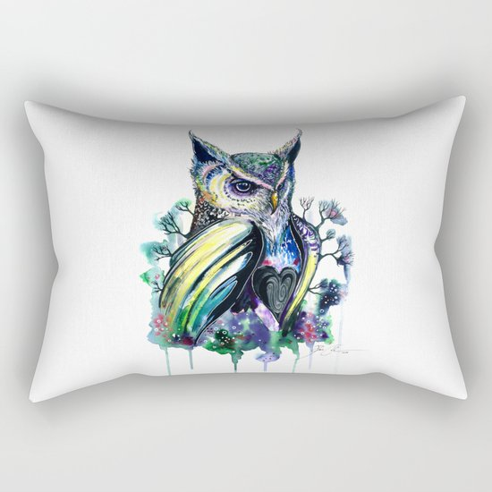 """""""owl"""" Rectangular Pillow"""
